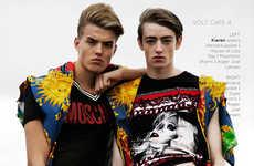 Eclectic Streetwear Editorials