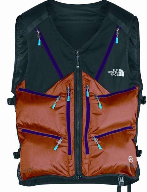 Inflatable Bag-Deploying Apparel - The North Face Avalanche Airbag Clothing Can Save Your Life