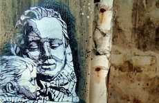 'Peace' by C215 Sends Out a Positive Global Message
