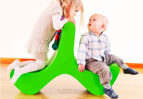 Funambulist Children's Furniture - Flip for Kids Encourages Dynamic Physical Development