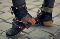 Stylish Steampunk Boots