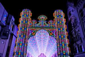 The Luminarie De Cagna is Blindingly Beautiful