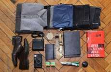 Suitcase Contents Photoblogs - 'I am Packed' Shares Photos of Things in Other People's Luggage