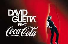 Music Producer Packaging - Coca-Cola David Guetta Campaign Includes Limited Edition Bottle