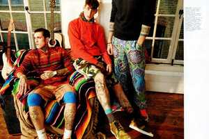 The Tribal Gathering Nylon Guys Editorial Features Eclectic Prints