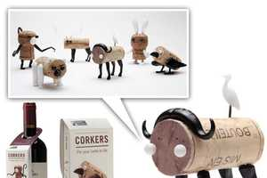 Corkers Makes Pets Out of Bottle Tops