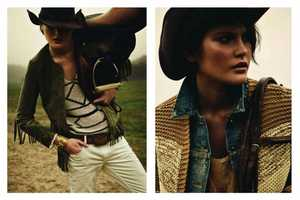 Catherine McNeil is a Fancy Farm Girl in Vogue Paris