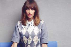 Alexa Chung Looks Pretty & Polished in Elle UK March 2012
