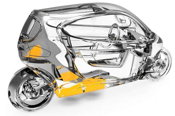 C-1 Electric Motorcycle 3