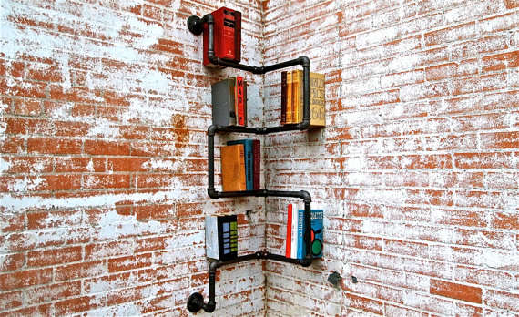 Piped Paperback Storage