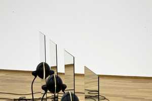 Alicja Kwade Offers Strikingly Simplistic Indoor and Outdoor Works