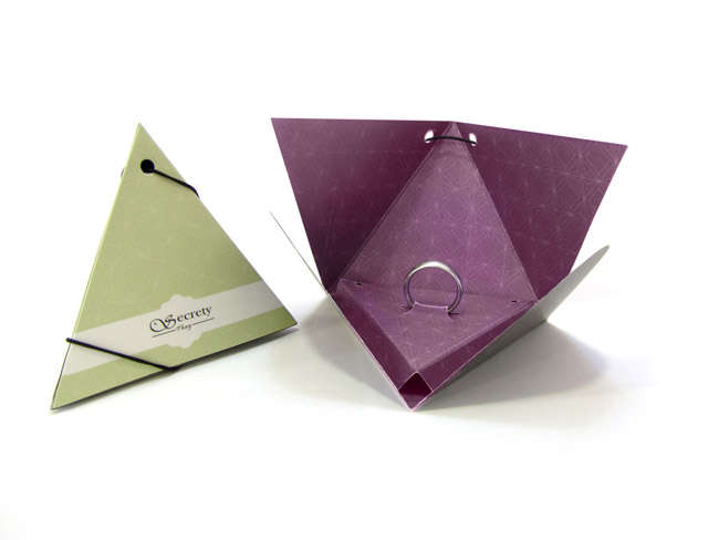 Pyramidal Ring Packaging