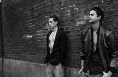 Badass Streetside Shoots - The Stuart Jones and Ivan Silic Fashionisto Exclusive is Edgy and Urban