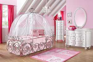 These Disney Princess Bedroom Sets are a Wish Come True