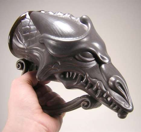 Dragon Head Beer Stein