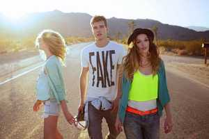 The Bershka Spring/Summer 2012 Lookbook is Carefree