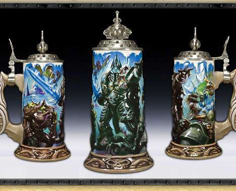 creative beer steins