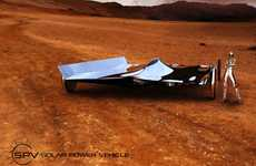 Silver Surfer Solar Cars - The SPV from Omer Sagiv is Eco-Friendly and Covered in Chrome
