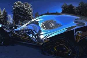 The Morphex Concept Car Makes Driving to the North Pole a Breeze