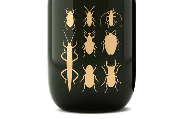 Entomological Alcohol Branding