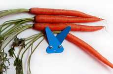 Endearing Rabbit Hangers