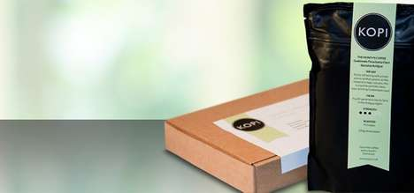 Rare Coffee Subscription Services - Kopi Offers Single-Estate Coffees from Around the World