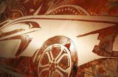 Rusty Auto Murals
