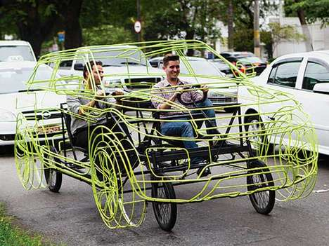 Luxury SUV Bikes - The Range Rover Evoque Bicycle is Literally Green