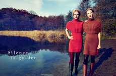 The Lea Nielsen Spring 2012 JNC Editorial Captures Alluring Autumn Style