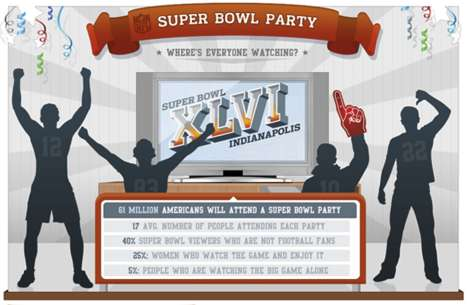 NFL Superbowl Infographic