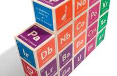 Playful Periodic Table Toys - The Elemental Blocks Combine Education with Fun
