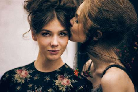 Dreamy Backstage Photography - The Ulyana Sergeenko Images Reveal an Elegant Collection