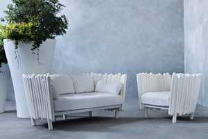 The Canisse Divano Collection Surrounds You in a Wall of Garden Stalks