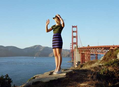 City Backdrop Lookbooks - Urban Outfitters Spring Catalogue Features Views of San Francisco