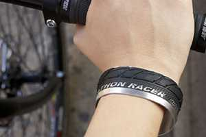 These Bike Tyre Bracelets Bring Your Love of Cycling into Style