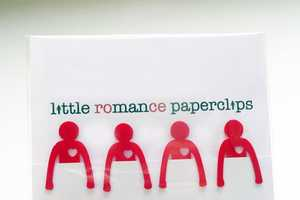 The Little Romance Paperclips are Both Cute and Functional