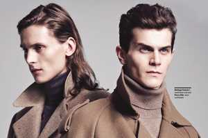 The Soft Focus Menswear Magazine Shoot is Debonair