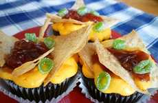 Deceptive Pub Grub Cakes - These Nacho Mama Cupcakes Will Keep Your Lucky Guest Guessing