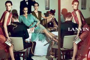 Lanvin Spring Summer 2012 by Steven Meisel is Stylishly Chaotic