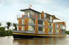 Vintage River Boats - Aqua Expeditions Introduces the First Luxury Cruise of the Amazon