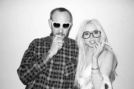 Recovering Starlet Shoots - The Terry Richardson x Lindsay Lohan Collaboration is Intriguing