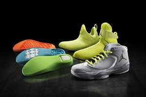 The Air Jordan 2012 Shoes Feature Interchangeable Sleeves and Midsoles