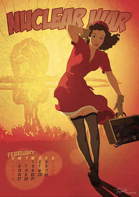 Apocalypse Pin-Ups - These Andrew Tarusov Images are Ready for the World's End