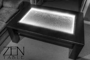 The 3G Zen Coffee Table is Mesmerizing to Watch