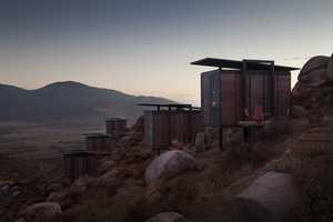 Intimate Architecture by David Garcia Studio Overlooks Vineyards