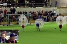 Human Bouncy Ball Sports