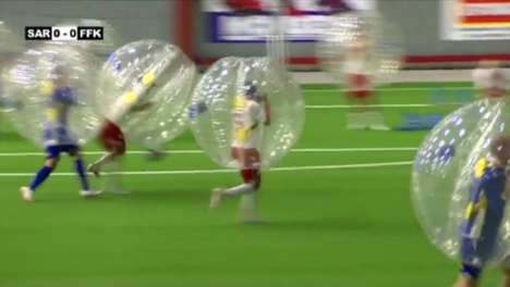 Bubble football/soccer