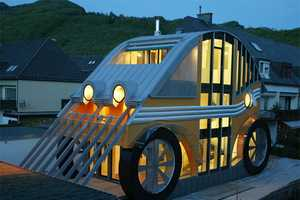 Markus Voglreiter 'Auto Residence' is Car-Shaped and Environmentally Friendly