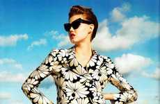 Lindsey Wixson Hits the Beach in Harper's Bazaar March 2012 Issue