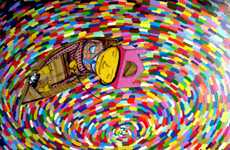Surreal Grafitti Galleries - A Preview of the Os Gemeos 'Miss You' at the Prism Gallery
